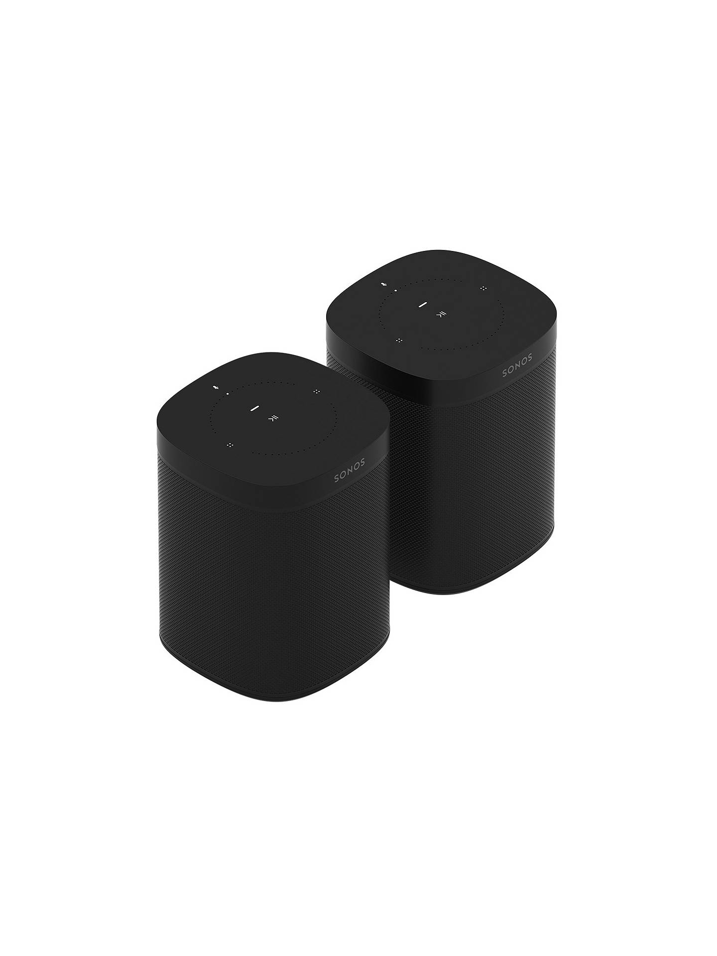 BuySonos One, 2 Room Set, Black Online at johnlewis.com