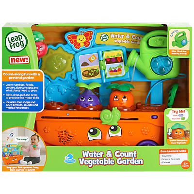 LeapFrog Water and Count Vegetable Garden