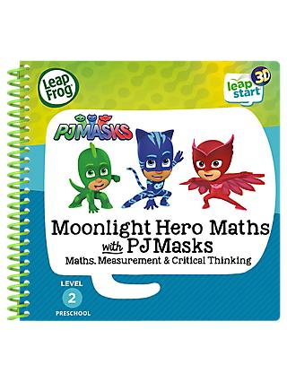 LeapFrog LeapStart 3D Moonlight Hero Maths with PJ Masks Activity Book