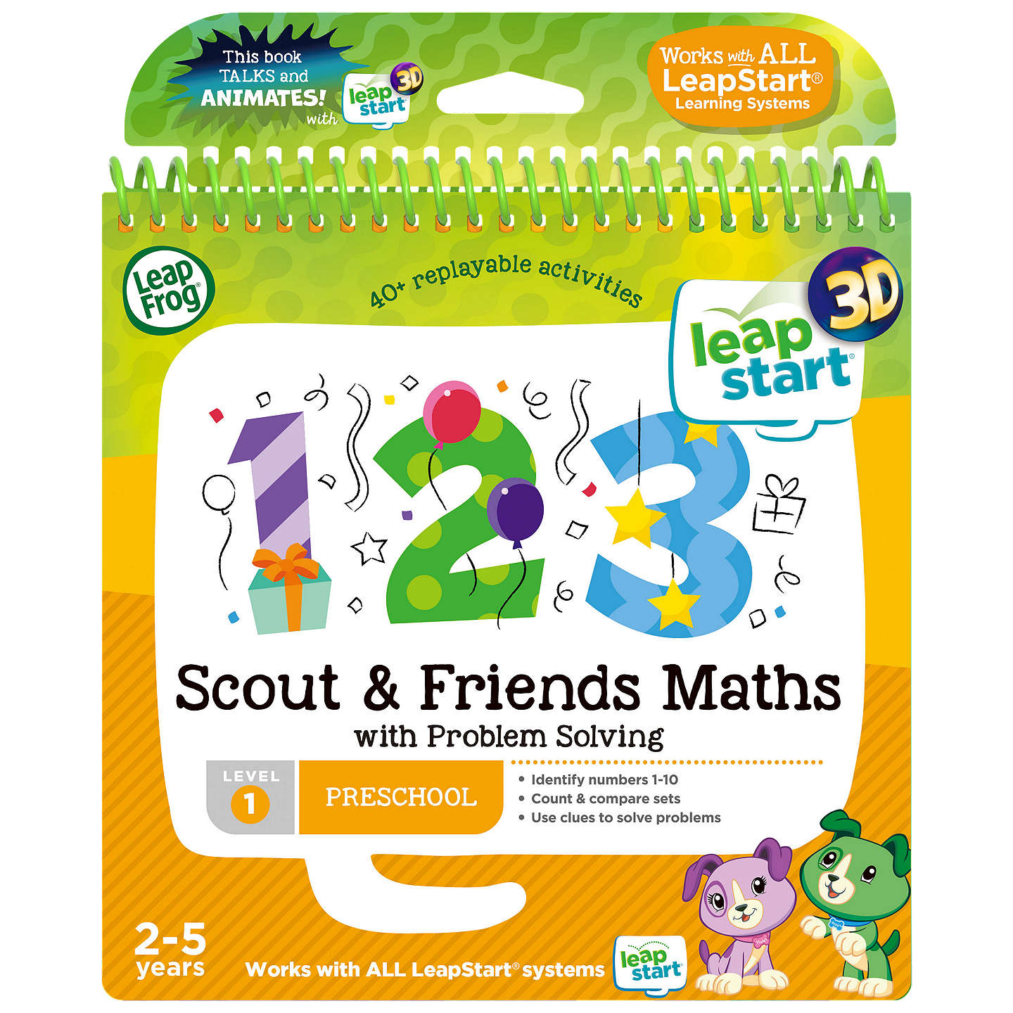 Buyleapfrog Leapstart Maths And Problem Solving Activity Book Online At