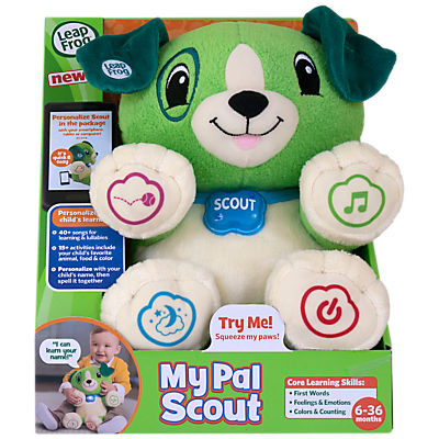 Image of LeapFrog My Pal Scout