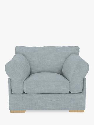 John Lewis & Partners Java Armchair, Dark Leg, Hope Grey