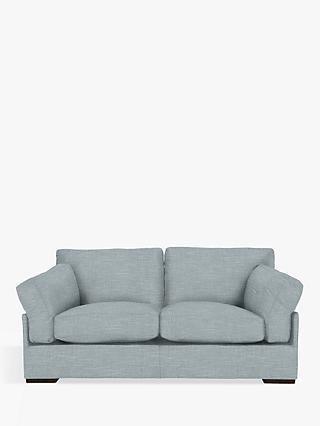 John Lewis & Partners Java Medium 2 Seater Sofa, Dark Leg, Hope Grey