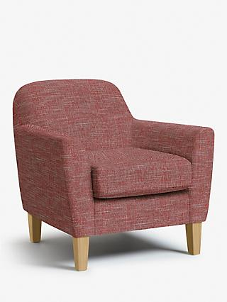 John Lewis & Partners Connor Armchair, Light Leg, Hope Burnt Orange