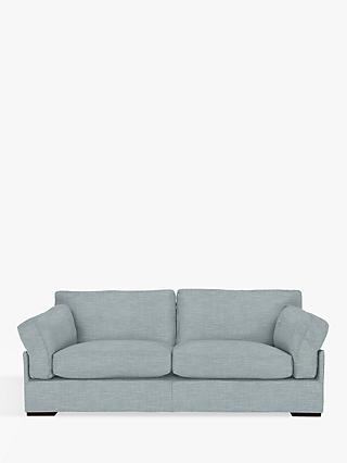 John Lewis & Partners Java Grand 4 Seater Sofa, Dark Leg, Hope Grey