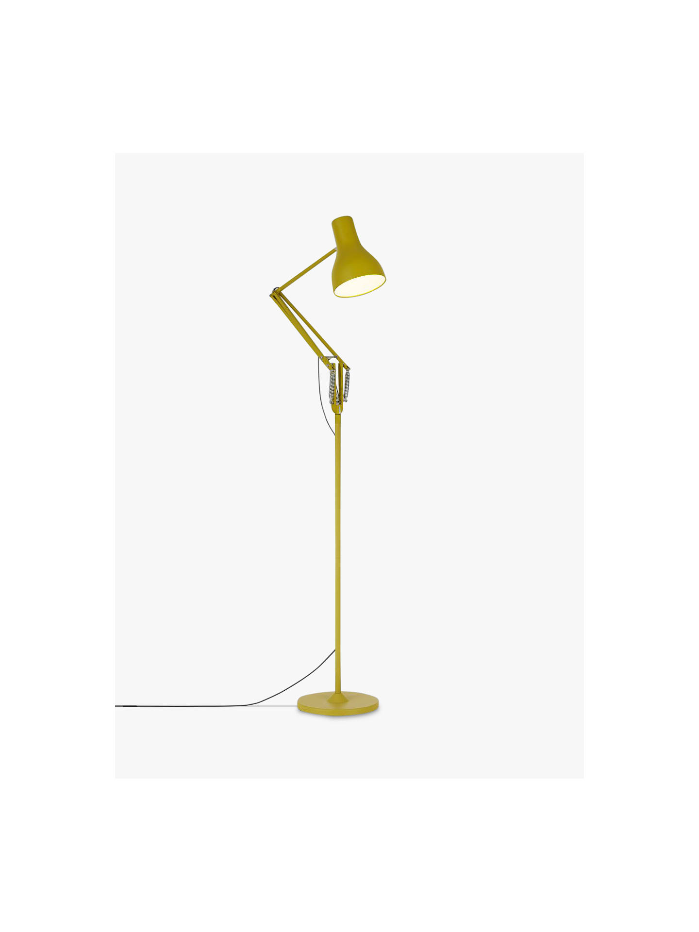 the best attitude cf9c8 8c8a3 Anglepoise Type 75 Margaret Howell Edition Floor Lamp, Yellow Ochre