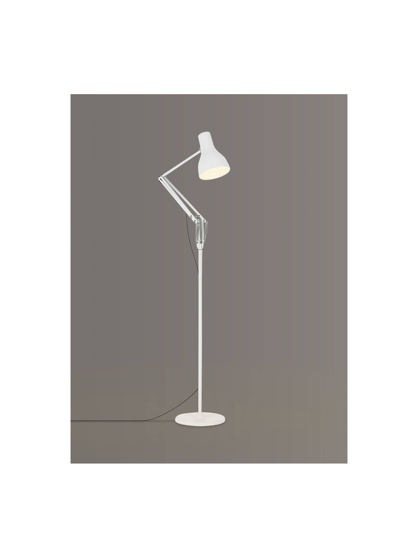 Buy Anglepoise Type 75 Floor Lamp, Alpine White Online at johnlewis.com