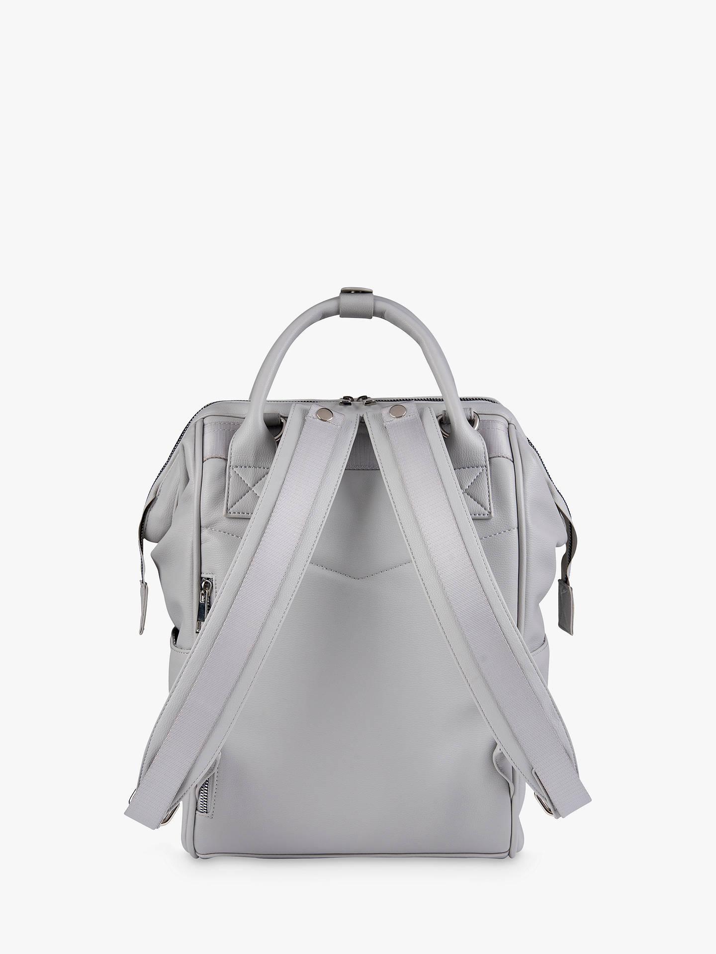 605496209b123 BabaBing! Mani Vegan Leather Changing Backpack