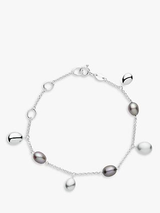 Links Of London Hope Sterling Silver Pearl Chain Bracelet
