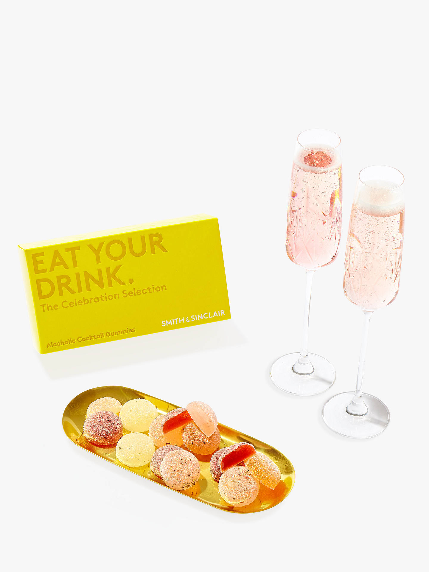 BuySmith & Sinclair Celebration Selection Alcoholic Cocktail Gummies, Pack of 8 Online at johnlewis.com