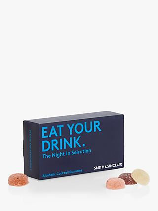Smith & Sinclair Night In Selection Alcoholic Cocktail Gummies, Pack of 8