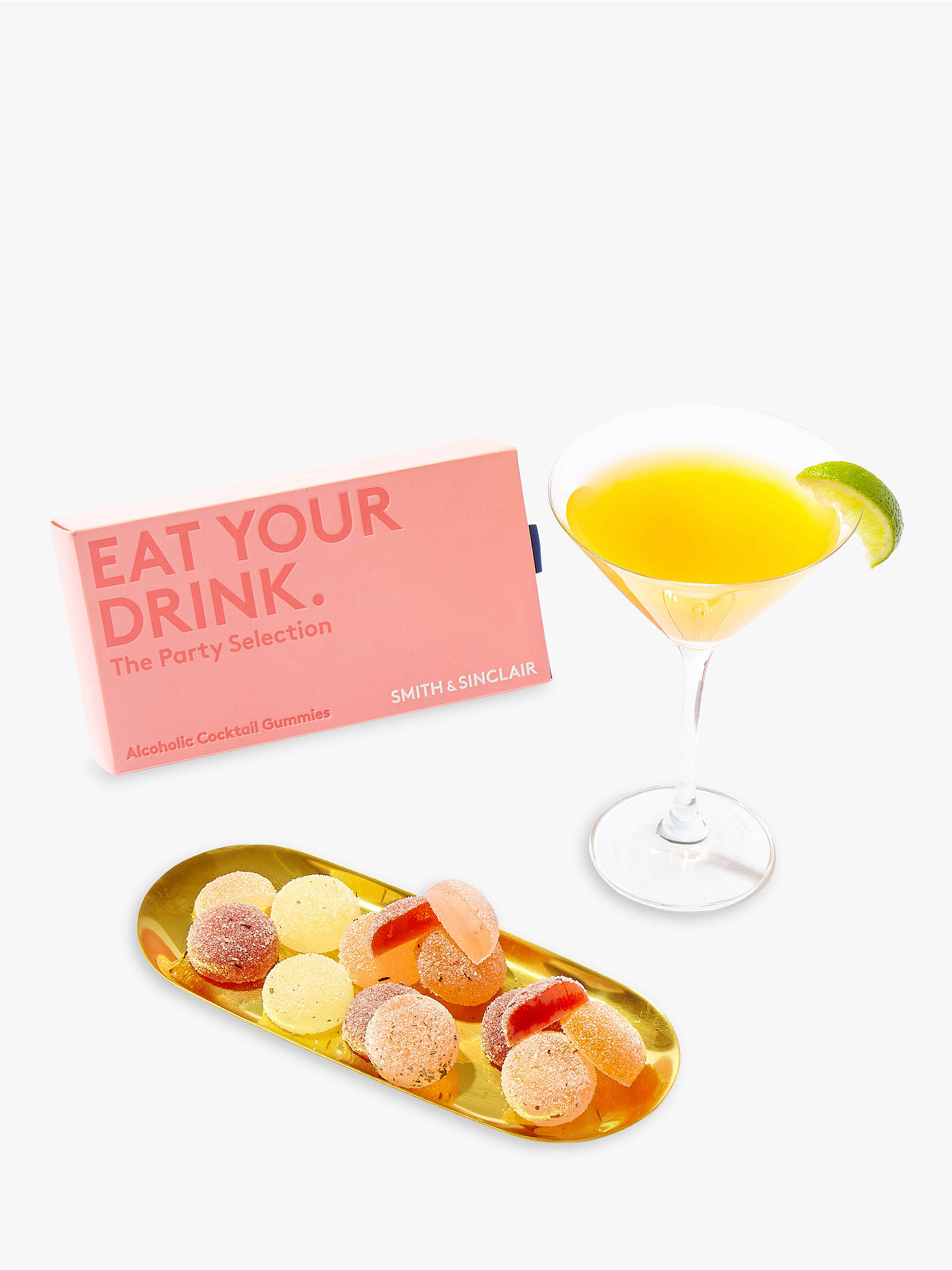 BuySmith & Sinclair Party Selection Alcoholic Cocktail Gummies, Pack of 8 Online at johnlewis.com