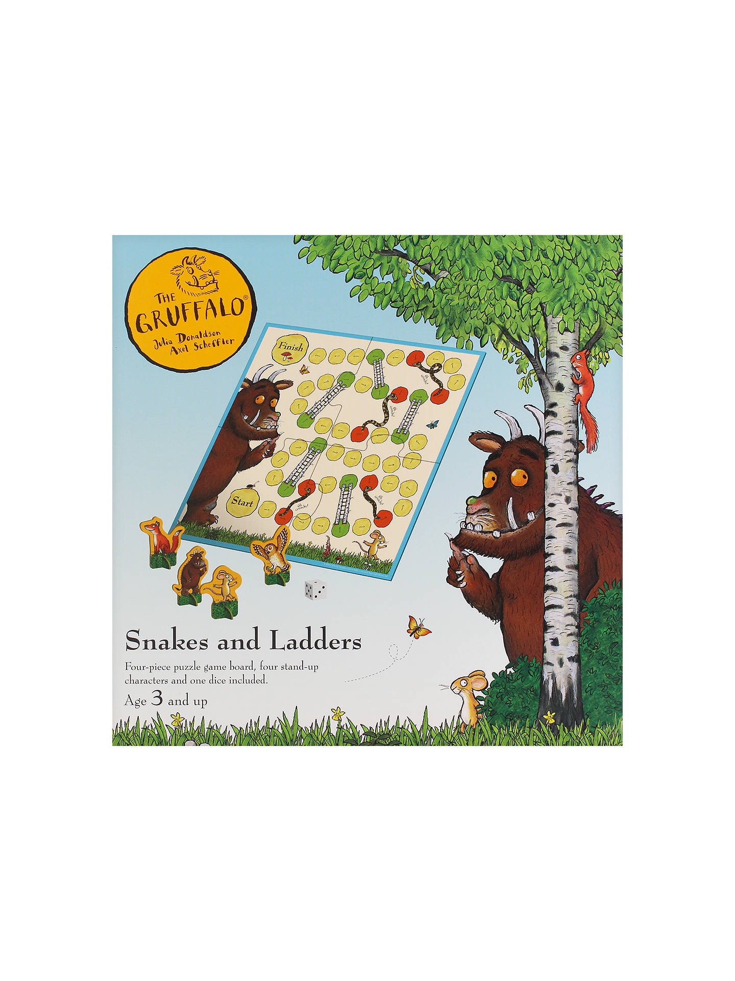 BuyThe Gruffalo Snakes and Ladders Game Online at johnlewis.com