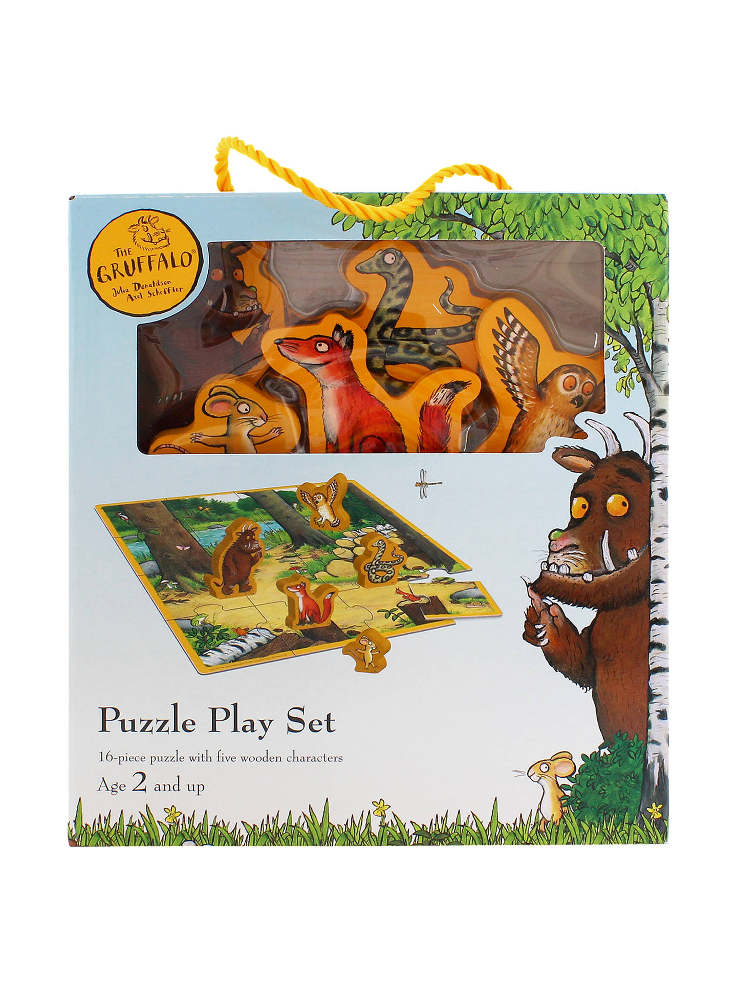 Buy The Gruffalo Jigsaw Puzzle Play Set Online at johnlewis.com