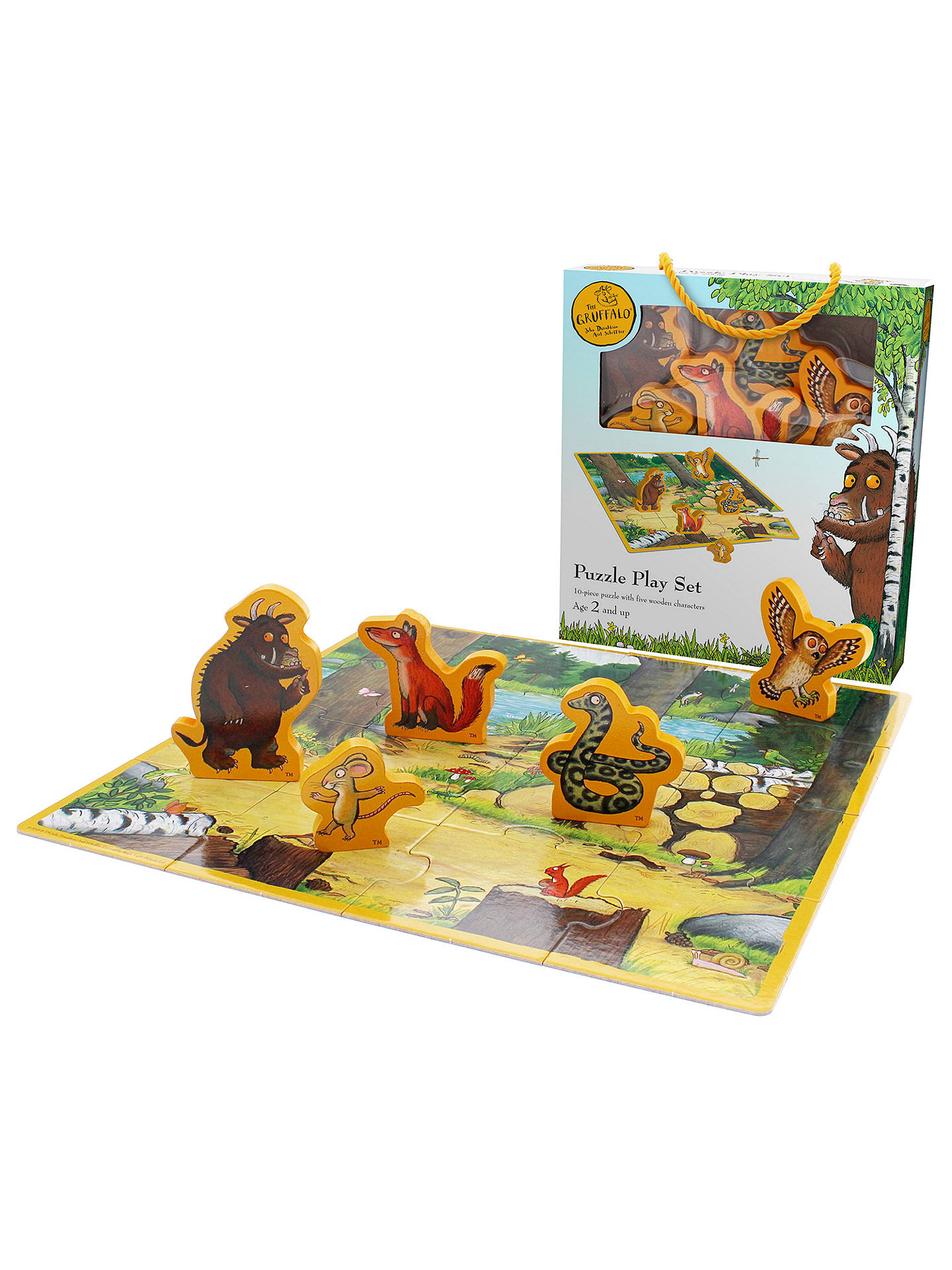 BuyThe Gruffalo Jigsaw Puzzle Play Set Online at johnlewis.com