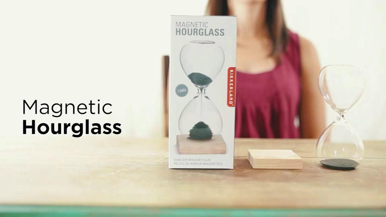 c2aba554426b6 Kikkerland Magnetic Hour Glass at John Lewis   Partners