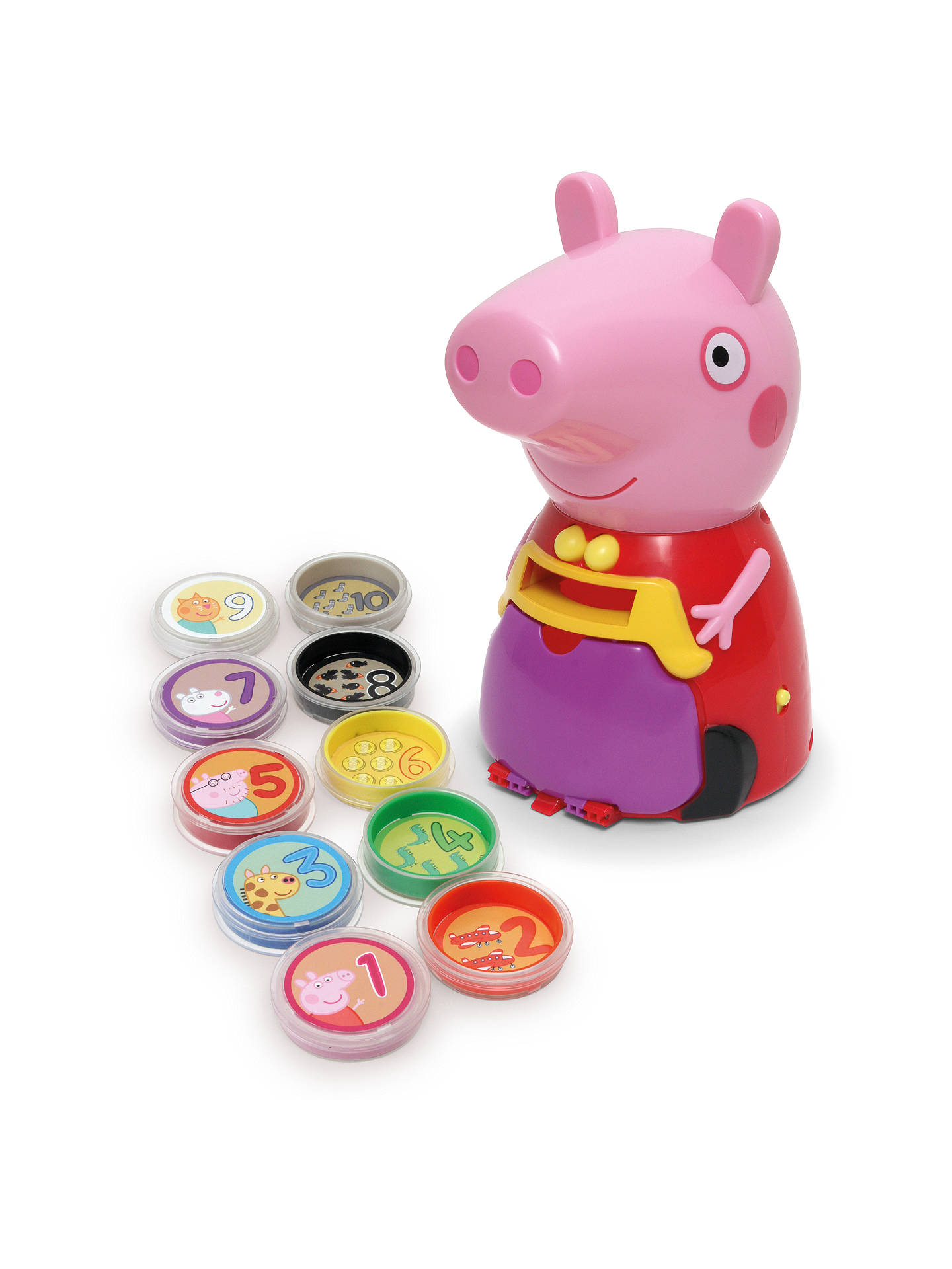 Buy Peppa Pig Count With Peppa Online at johnlewis.com