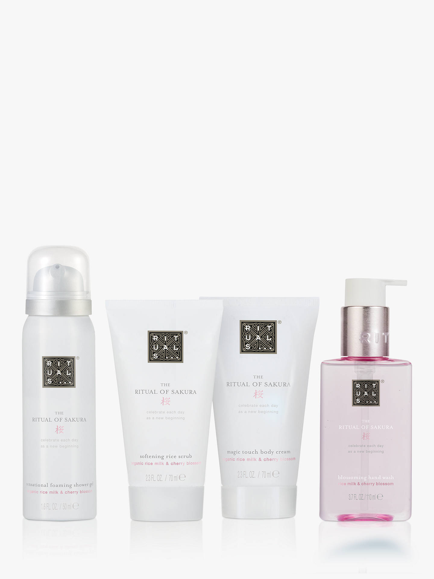 Buy Rituals The Ritual of Sakura - Renewing Treat Small Body Care Gift Set Online at johnlewis.com
