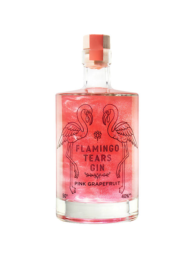 Buy Firebox Flamingo Tears Pink Grapefruit Gin, 50cl Online at johnlewis.com