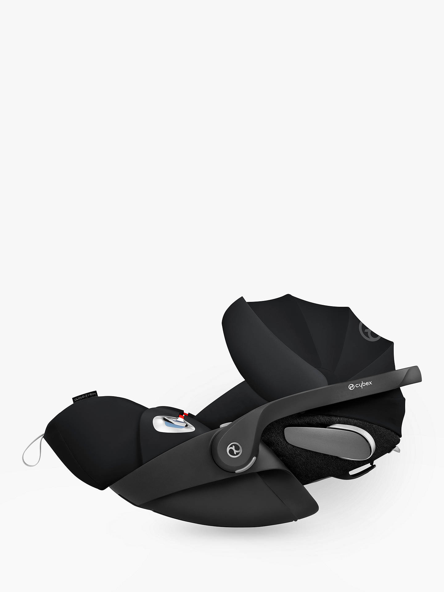 Buy Cybex Cloud Z i-Size Group 0+ Baby Car Seat, Stardust Black Online at johnlewis.com