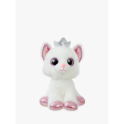 Aurora World Sparkle Tales Royal Cat Soft Toy