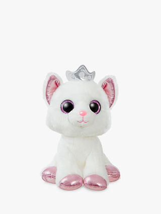 Buy Aurora World Sparkle Tales Royal Cat Soft Toy Online at johnlewis.com