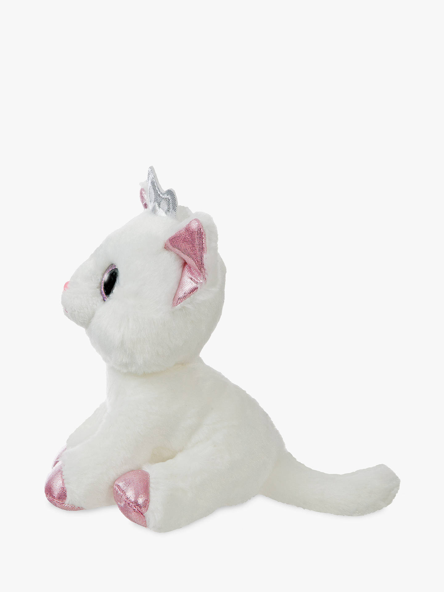 BuyAurora World Sparkle Tales Royal Cat Soft Toy Online at johnlewis.com