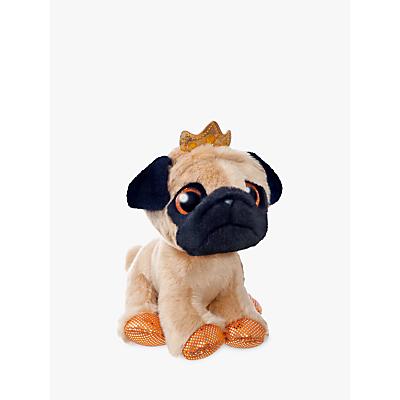 Aurora World Sparkle Tales Royal Pug Soft Toy