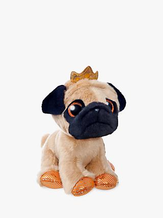 Aurora World Sparkle Tales Royal Pug Soft Toy