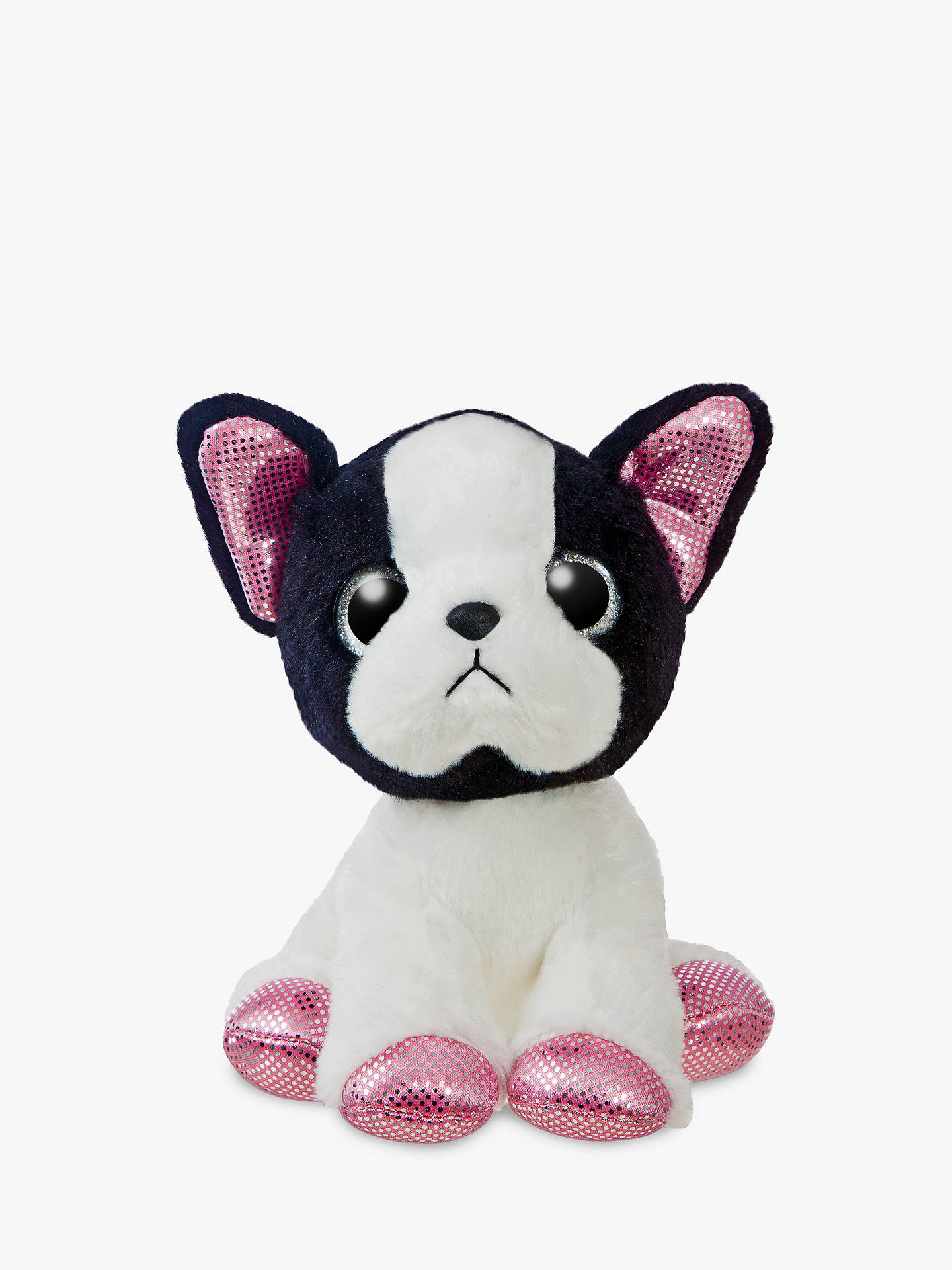 BuyAurora World Sparkle Tales French Bulldog Soft Toy Online at johnlewis.com