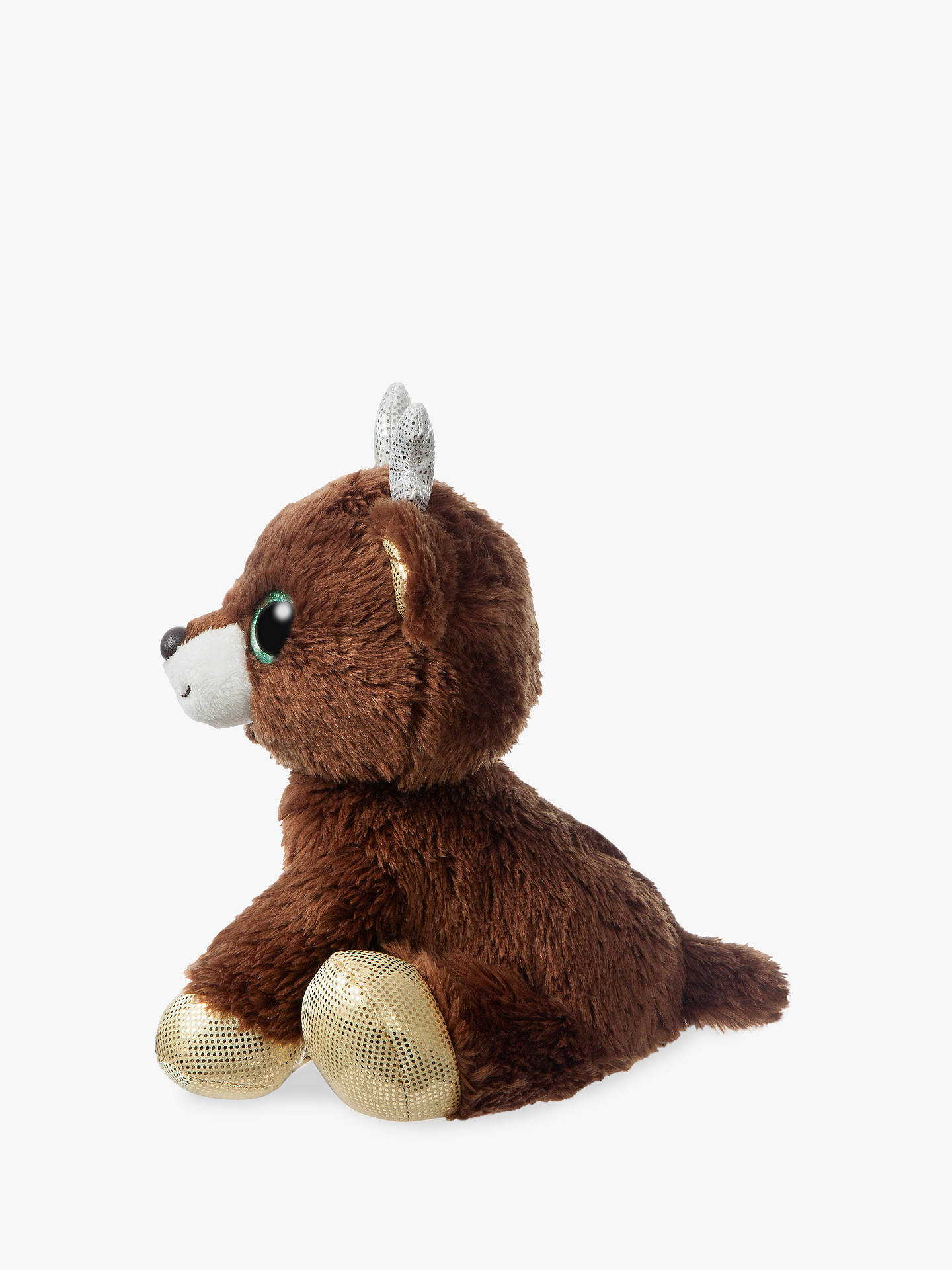 BuyAurora World Sparkle Tales Jingle Reindeer Soft Toy Online at johnlewis.com