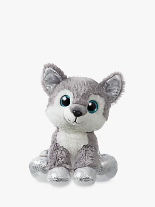 Aurora World Sparkle Tales Husky Soft Toy