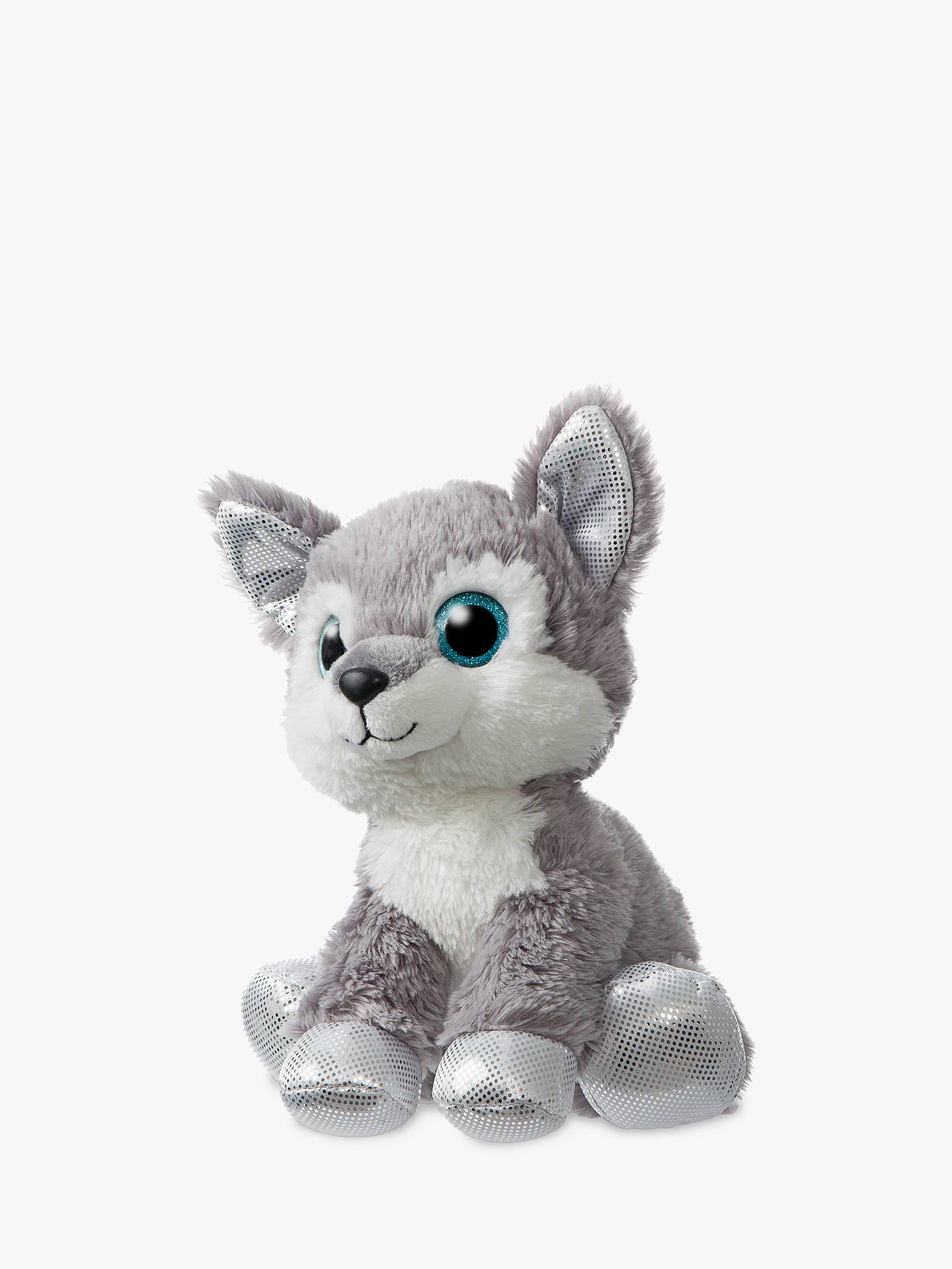Buy Aurora World Sparkle Tales Husky Soft Toy Online at johnlewis.com