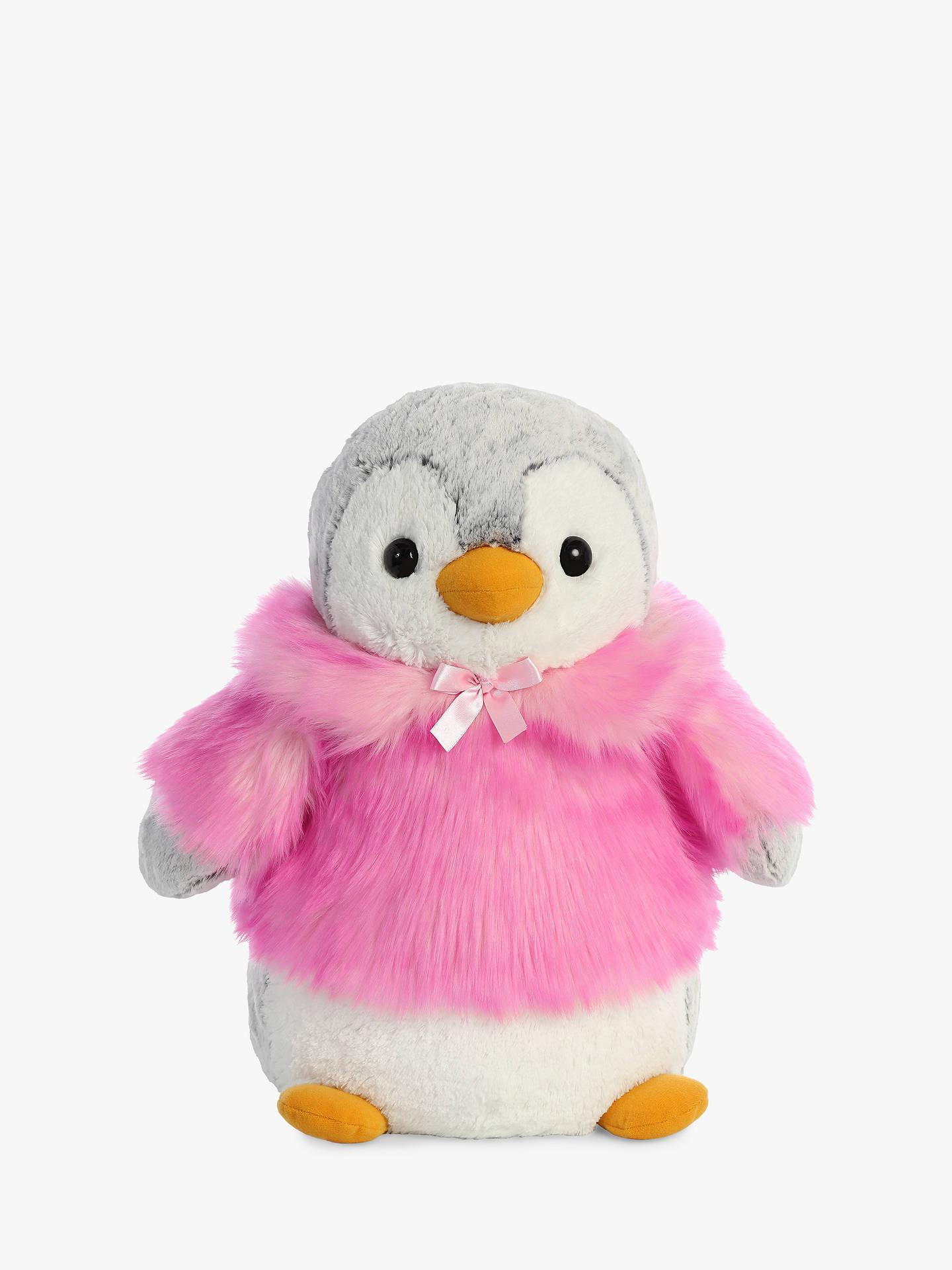 beacac20930e Buy Aurora World Pompom Penguin With Coat Soft Toy