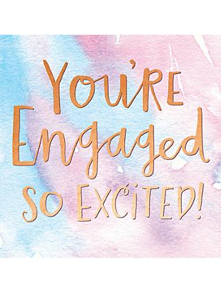 Pigment You're Engaged Card