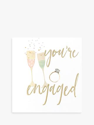 Caroline Gardner You're Engaged Card