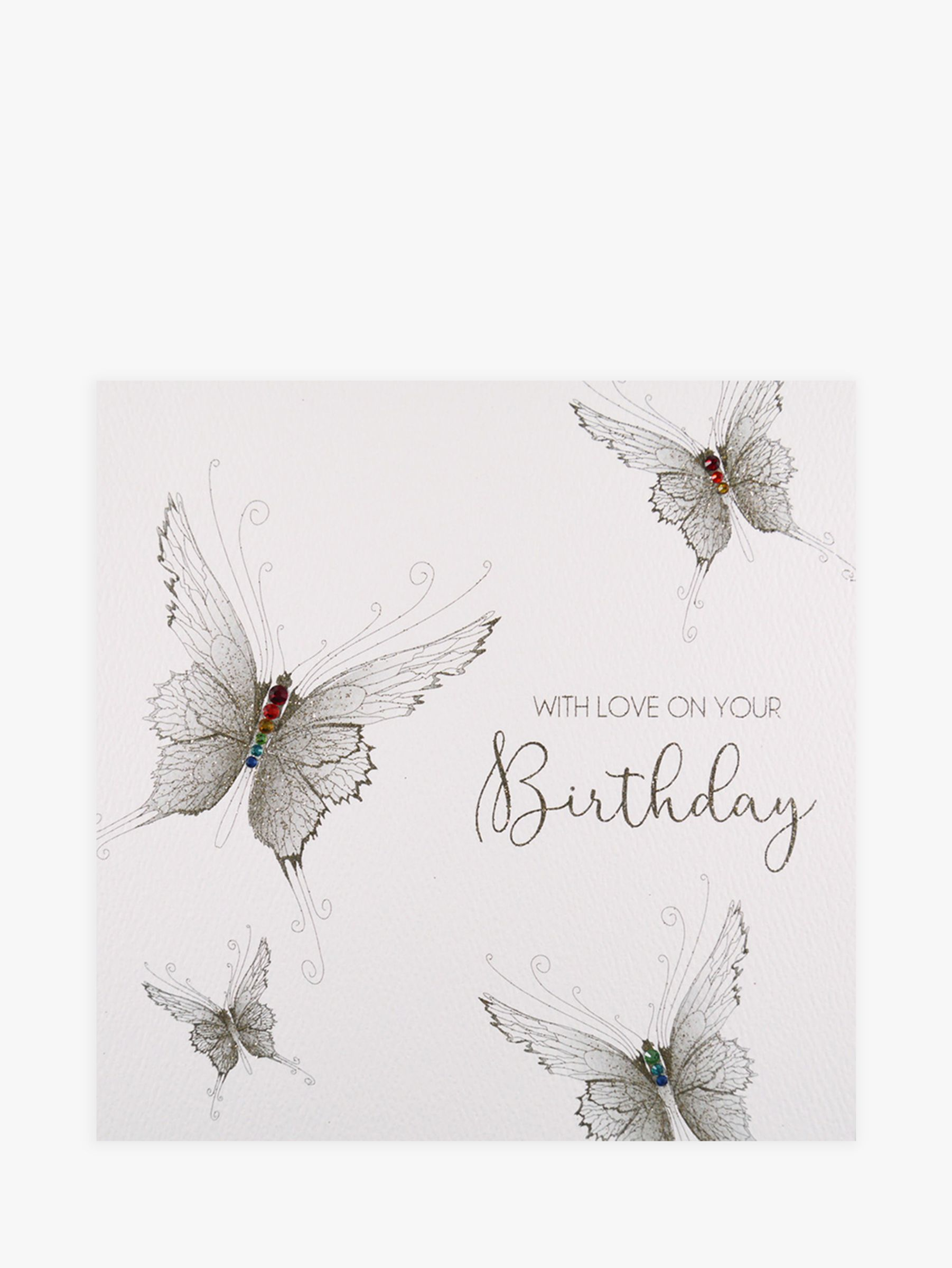 Five Dollar Shake Five Dollar Shake Butterflies With Love On Your Birthday Card