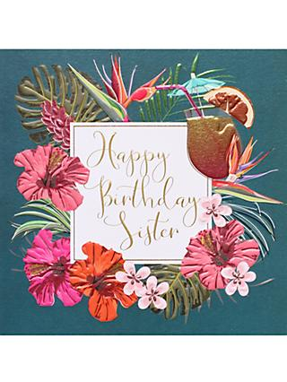 Birthday sister greetings cards john lewis partners belly button designs sister birthday card m4hsunfo