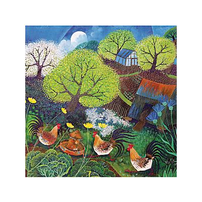 Image of Woodmansterne Happy Hens Card