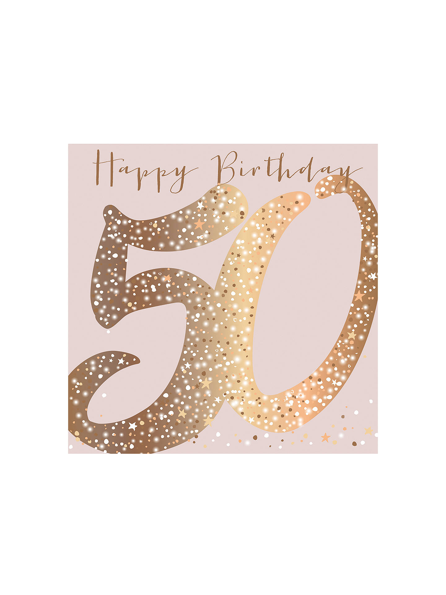Buy Belly Button Designs 50th Birthday Card Online At Johnlewis