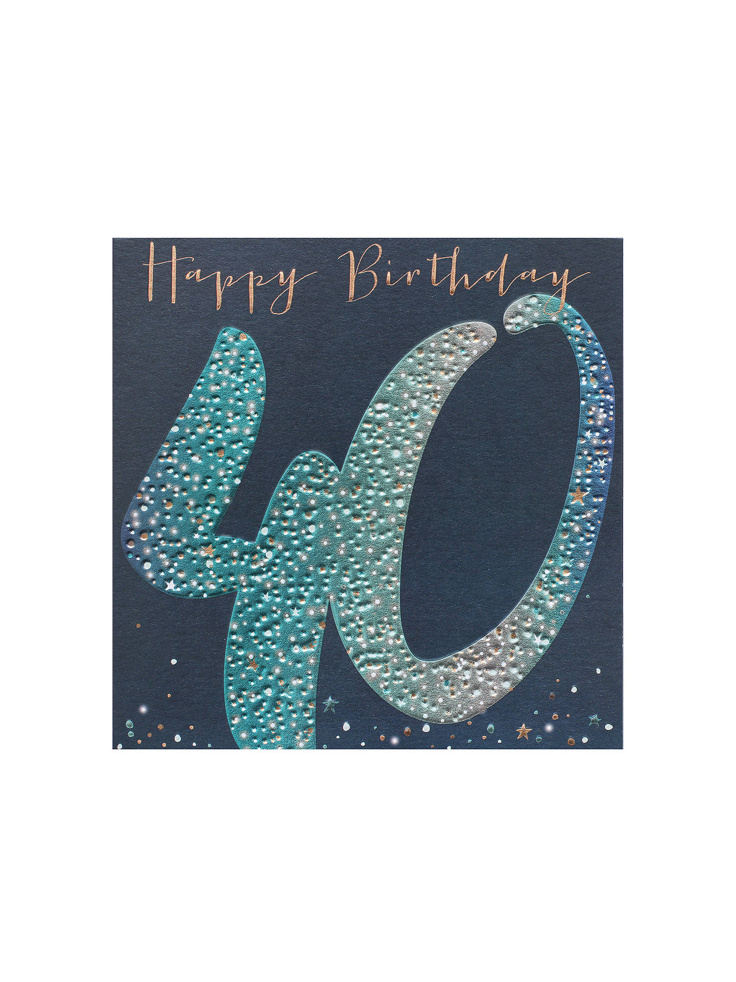 Buy Belly Button Designs 40th Birthday Card Online At Johnlewis