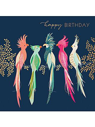 Art File Cockatoos Birthday Card