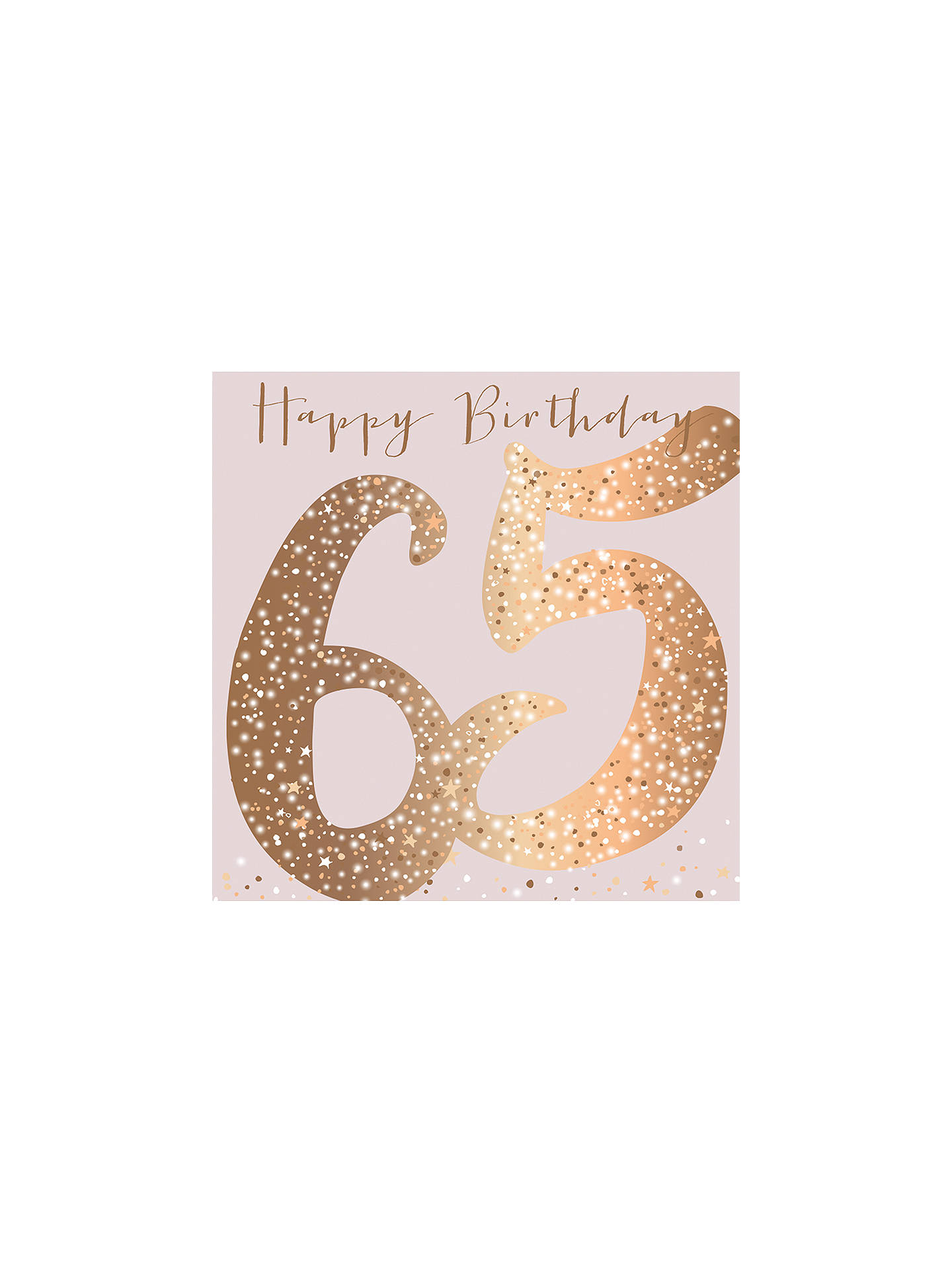 Buy Belly Button Designs 65th Birthday Card Online At Johnlewis