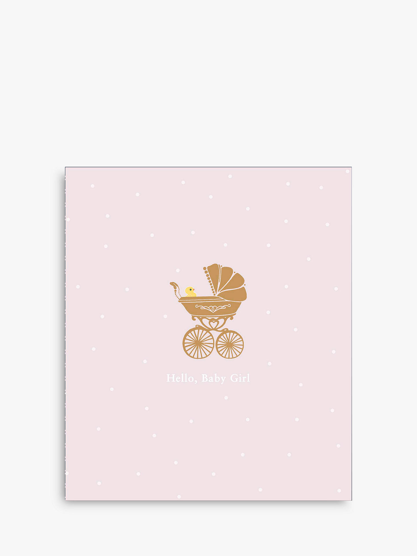 Uk greetings congratulations on your baby girl card at john lewis buyuk greetings congratulations on your baby girl card online at johnlewis m4hsunfo