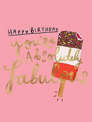 Pigment Absolutely Fabulous Birthday Card