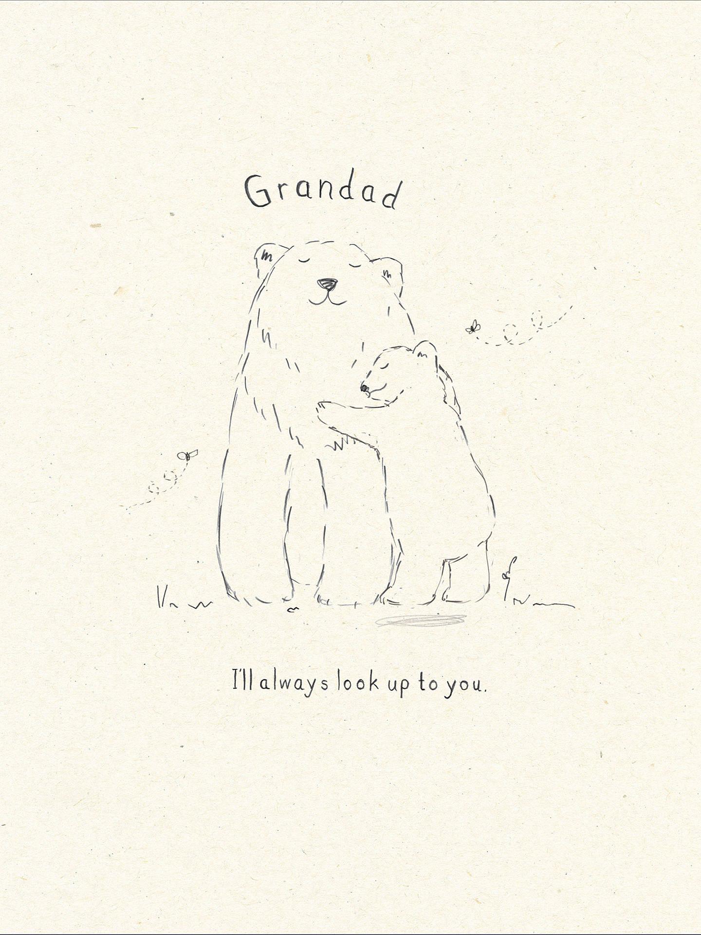 Buy UK Greetings Granddad Bears Birthday Card Online At Johnlewis