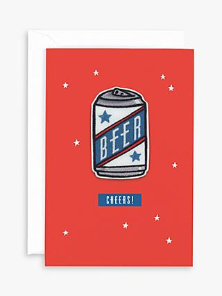 Hotchpotch Beer Patch Birthday Card
