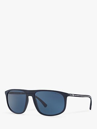 238ae68379ee Emporio Armani EA4118 Men s Rectangular Sunglasses