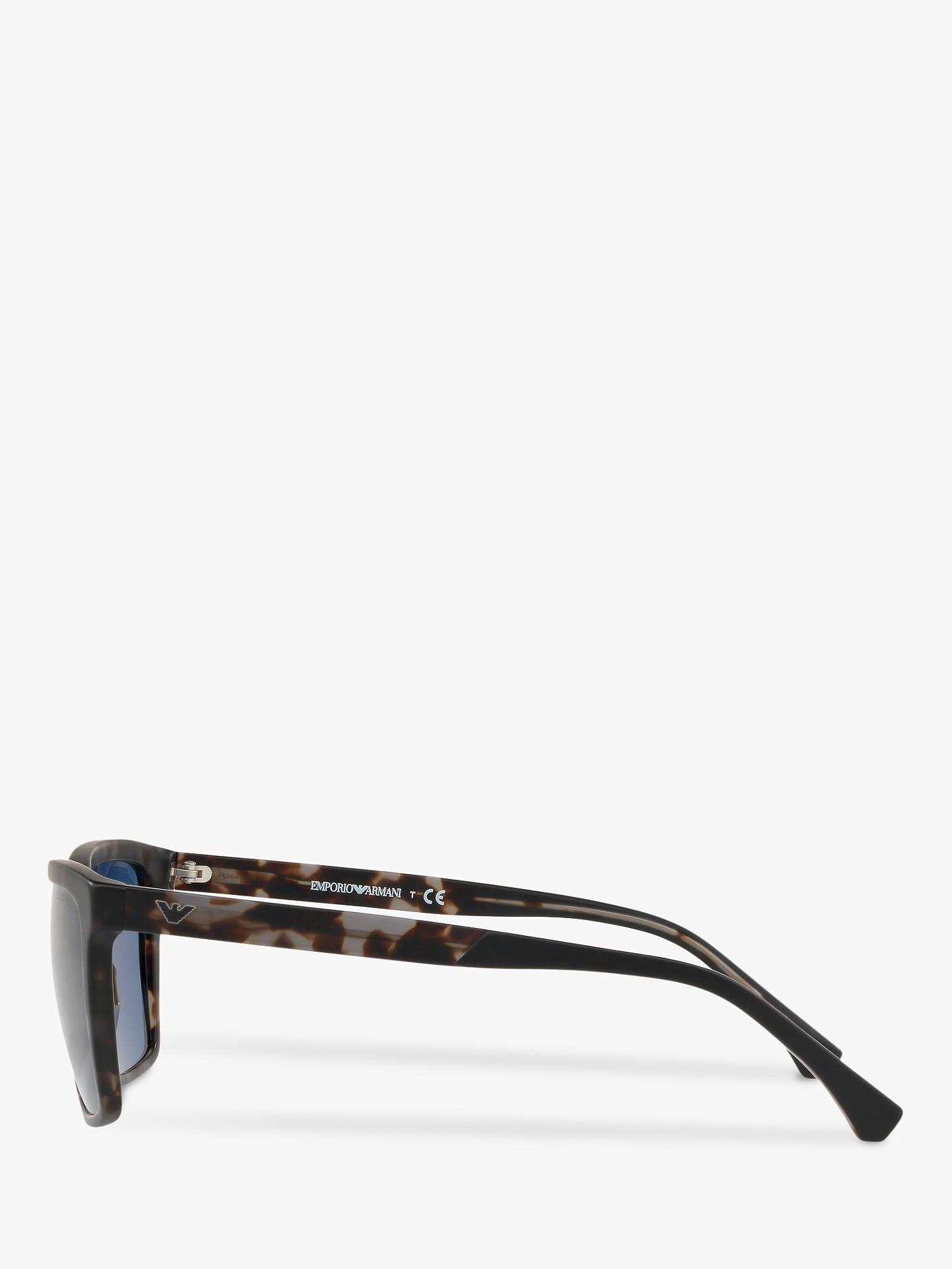 8f4b894a4ed Buy Emporio Armani EA4117 Men s Square Sunglasses