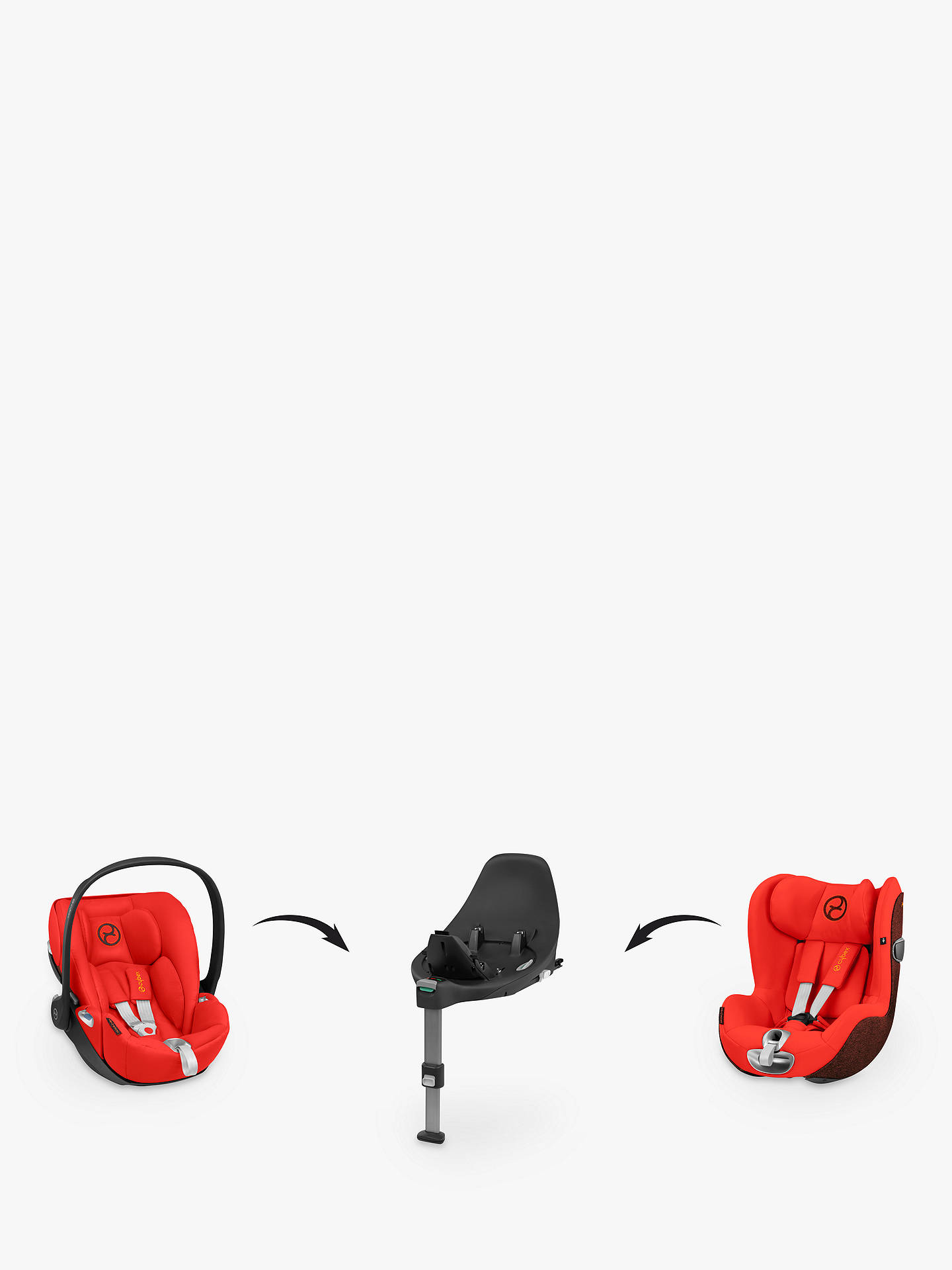 Buy Cybex Car Seat Base Z Online at johnlewis.com